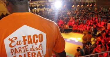 """Porto Alegre, 08/11/2016 SMS, através da AT DST Aids e em parceria com a Smed, promovem o programa de auditório do projeto """"Galera Curtição"""" 2016. Local: Centro Vida Foto: Cristine Rochol/PMPA"""