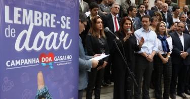 Porto Alegre/RS 23/05/2017 Lançamento da Campanha do Agasalho 2017 Local:Paço Municipal Foto:Ricardo Giusti/PMPA