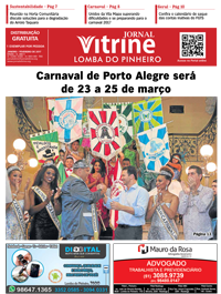 Jornal Vitrine Lomba do Pinheiro – Edição 12