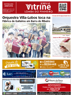 Jornal Vitrine Lomba do Pinheiro Set/ Outubro - Ed 10