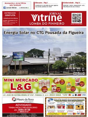 Jornal Vitrine Lomba do Pinheiro – Edição 17