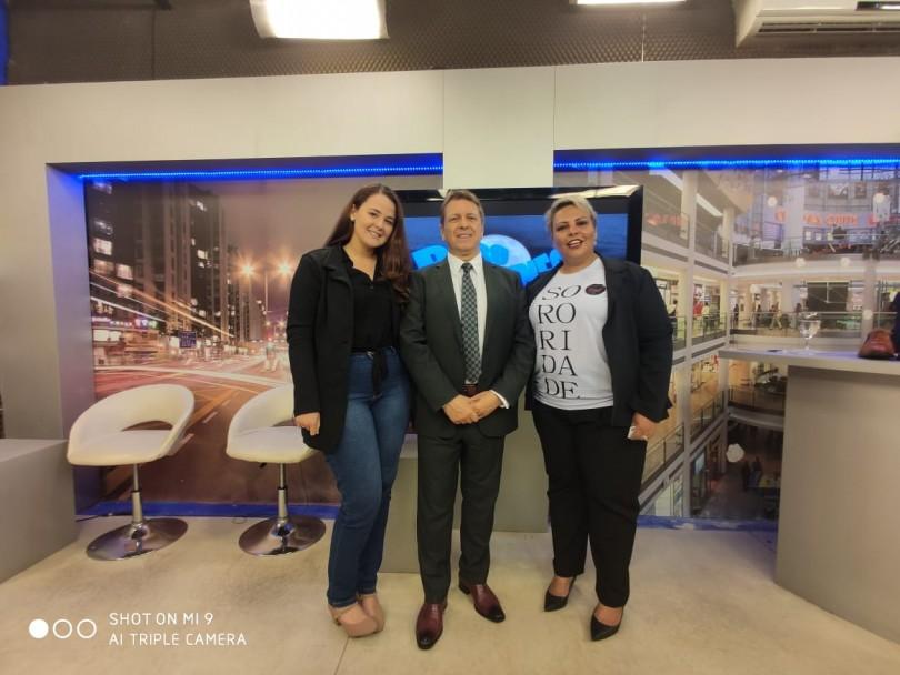 Na noite de terça-feira (17/09) foi ao ar o Programa Bibo Nunes, onde a idealizador do Projeto, Roberta Capitão Coimbra, pôde falar um pouco desta experiência positiva que está mudando para melhor a vida de dezenas de mulheres.